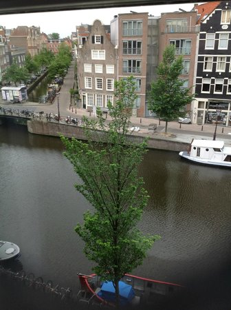 Andaz Amsterdam Prinsengracht: View from the room