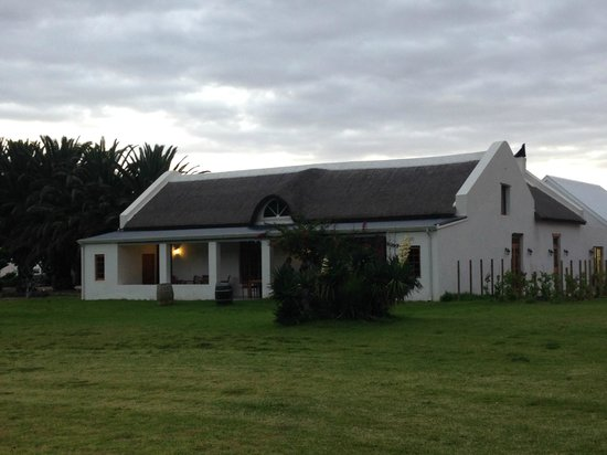 Springfontein Eats: The main restaurant building