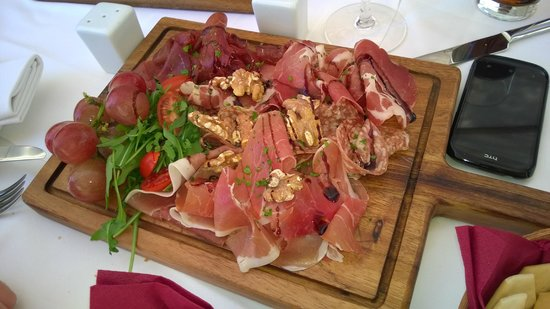 Rampila: italian platter
