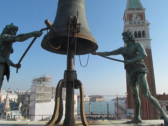 Torre dell'Orologio : View from the very top of the tower