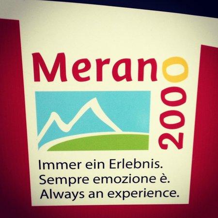 Wander-und Skigebiet Meran 2000: Когда увидите такую эмблему - значит вы на месте))))