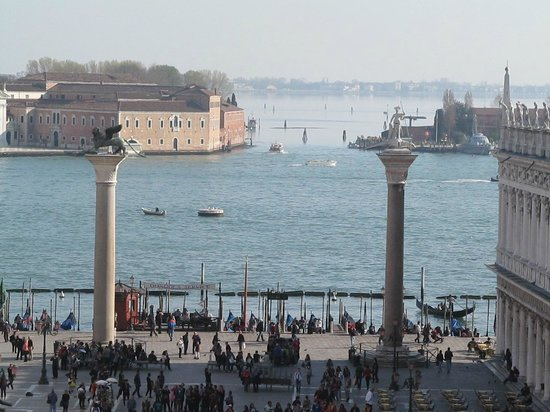 Torre dell'Orologio : View from top of the tower