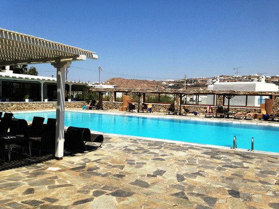 Yiannaki Hotel: Hotel Pool