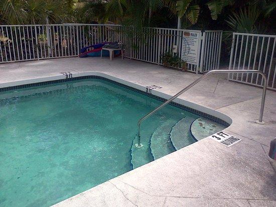 Grove City Motel: Pool area.