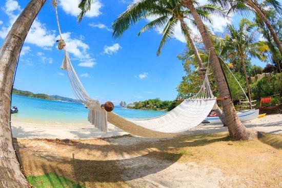 The Naka Island, A Luxury Collection Resort & Spa Phuket : Nice relax area overlook Ao po Marina