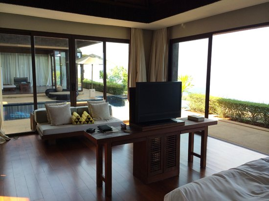Paresa Resort Phuket: Cielo Resident #161 - View from Master Bedroom