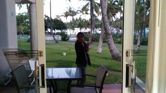 Hilton Ponce Golf & Casino Resort: Room with patio amazing