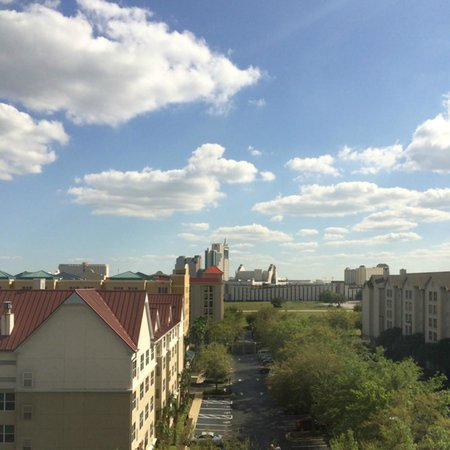 Hyatt Place Orlando/Convention Center: View from my room
