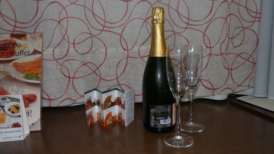 Veracruz Plaza Hotel & Spa: Detalle de bienvenida...