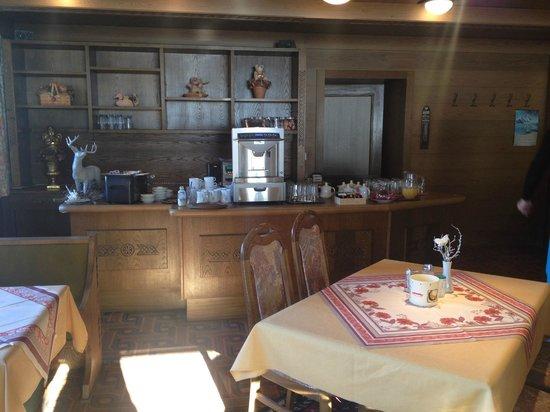 Ski & Golfpension Hofer: Кухня - завтрак