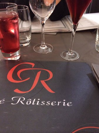 Côté Rotisserie : Carte