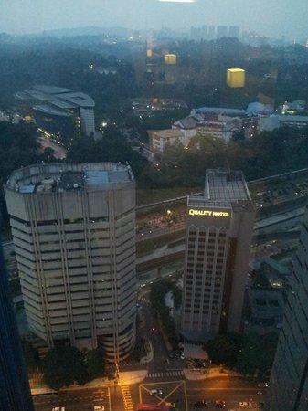 Premiera Hotel Kuala Lumpur : View from room