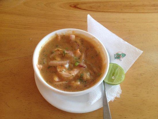 Los Cebiches De La Ruminahui: Cebiche de camarón