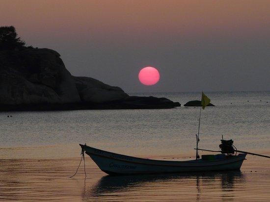 Ao Thian Ok : sunset