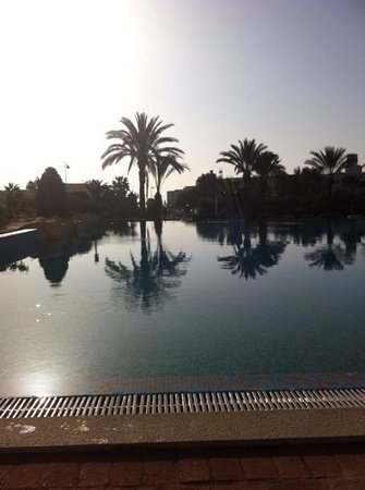 Medina Belisaire & Thalasso: the gorgeous pool