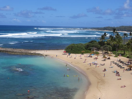 Turtle Bay Resort: View from 5th floor