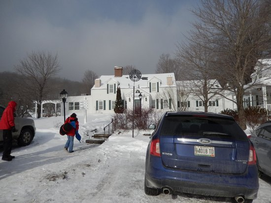 The Hermitage Inn: Inn main entrance