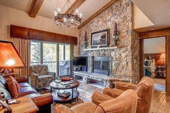 The Charter at Beaver Creek Condo Living Room