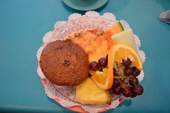 The Village Cafe: quiche