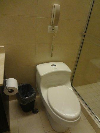 Tryp by Wyndham Panama Centro: toilet