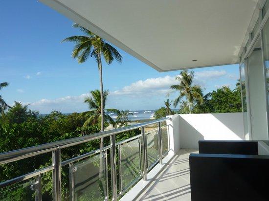 Bohol South Beach Hotel View From Balcony