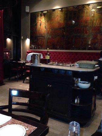 La Brasserie de Bruxelles: Interieur 20/03/2014 20u