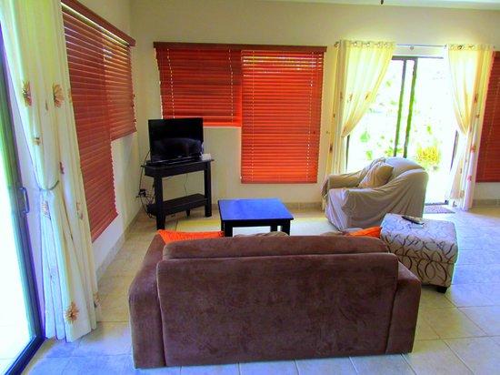 Hacienda Pacífica: Villa´s Living room