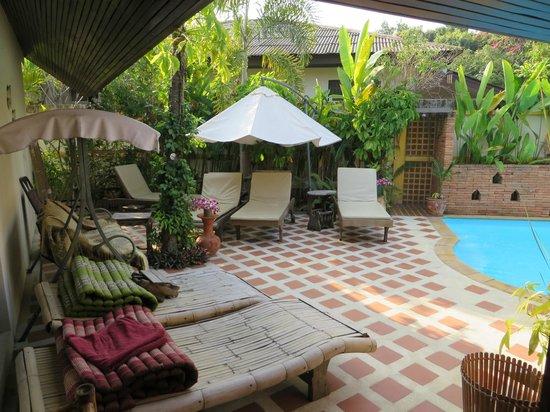 Villa Anneloi: relax area