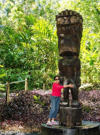 Hawaii Tropical Botanical Garden: Tiki?