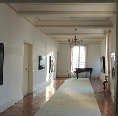 Aiguefonde, Francia: В коридорах вывешены картины кисти самого владельца