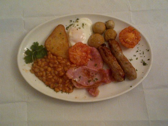 Best Western Crewe Arms Hotel: The Crewe Arms Hotel Full English