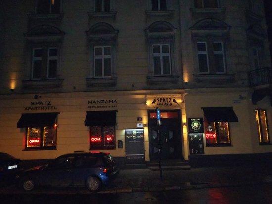 Spatz Aparthotel : front of hotel