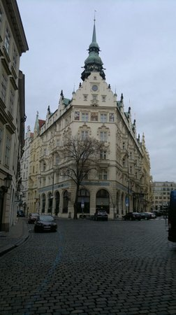 Hotel Paris Prague: vue de l'hotel