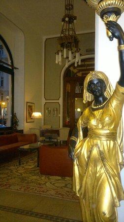 Hotel Paris Prague: salon