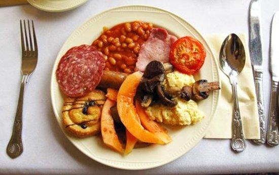 Best Western Scores Hotel: Scottish breakfast.