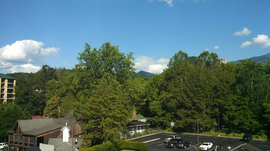 Black Bear Inn & Suites: Nice views from the room's balcony