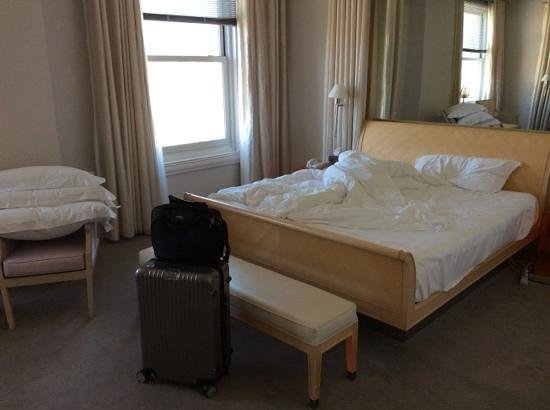 Clift Hotel San Francisco: large bed