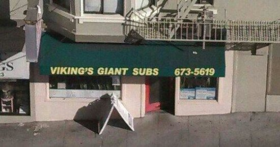 Viking's Giant Subs: Plan to carry out; limited seating.