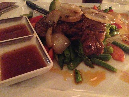 Thai Urban Kitchen : Grilled Rib Eye Steak