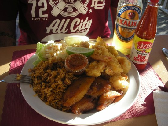 Authentic Bahamian Food Local Prices Review Of Sire S Restaurant Bar Freeport Bahamas Tripadvisor