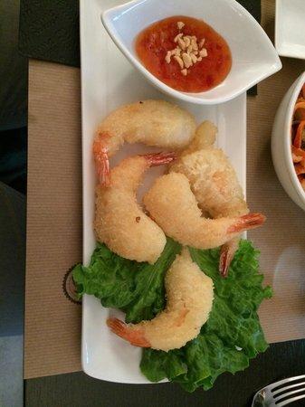 Le bistrot asiatique : Beignets de crevettes
