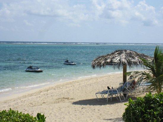 Morritts Tortuga Club and Resort : Beach area