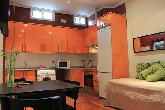 New Point Madrid: Apartamento interior (4 adultos)