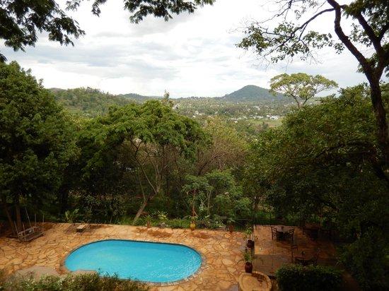 Karama Lodge & Spa: View from pool area