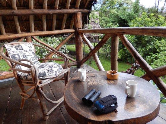 Karama Lodge & Spa: Our balcony