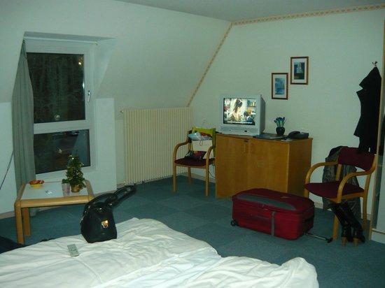 Hôtel Husseren les Chateaux : notre chambre