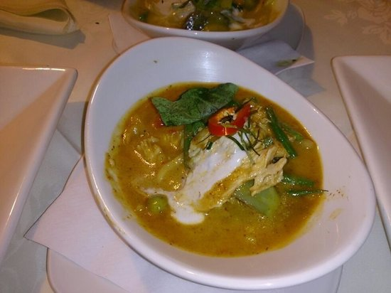 Ruan Orchid: Red Thai Curry (lunch menu)