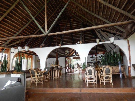 Karama Lodge & Spa: Top level of restaurant/bar