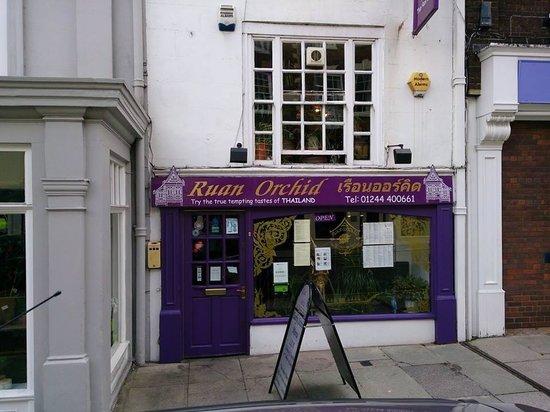 Ruan Orchid: Front