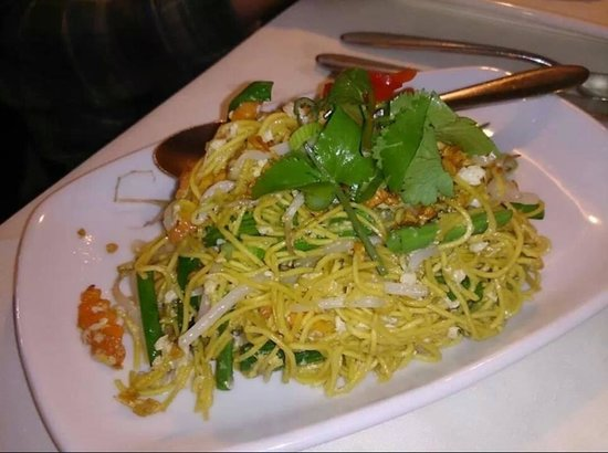 Ruan Orchid: Portion side noodles